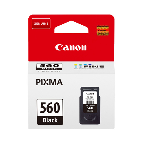Canon Canon PG-560 (3713C001) ink black 180 pages (original)
