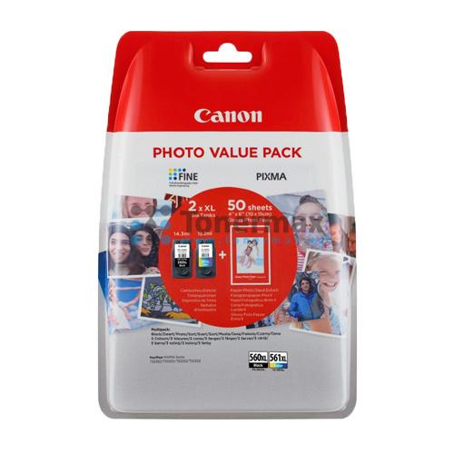 Canon Canon PG-560XL/CL-561XL (3712C004) ink bk+clr (original)