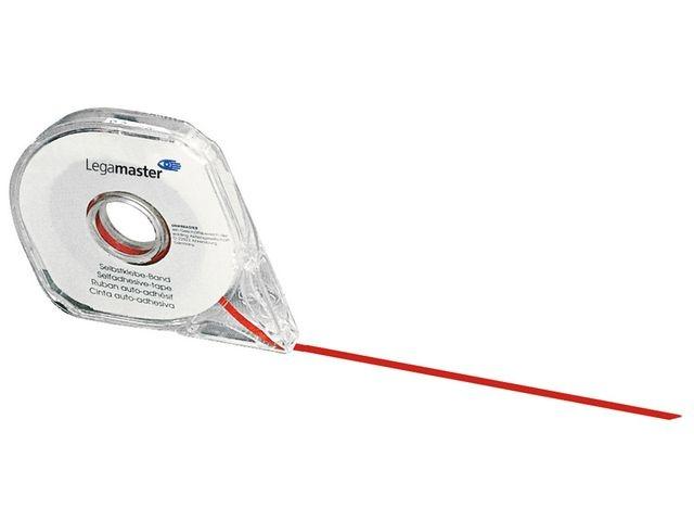 Legamaster Verdeeltape Lega 2,5mmx16m zelfh. rood