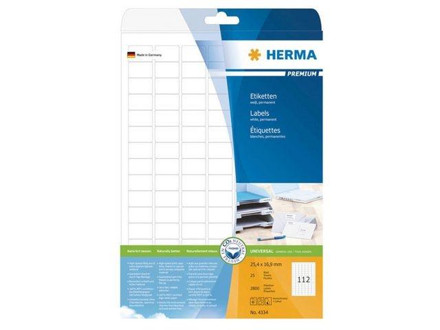 Herma Etiket ILC 25x17 prem wit/pak 2800