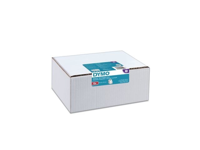 Dymo Etiket Dymo 54x101mm/pk 6 rol