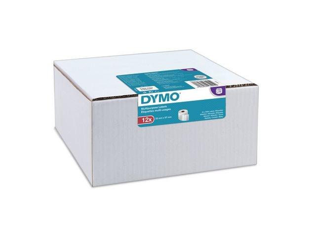 Dymo Etiket Dymo 32x57mm /pk 12 rol
