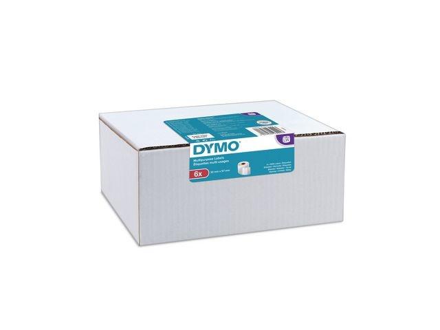 Dymo Etiket Dymo 32x57mm / pk 6 rol