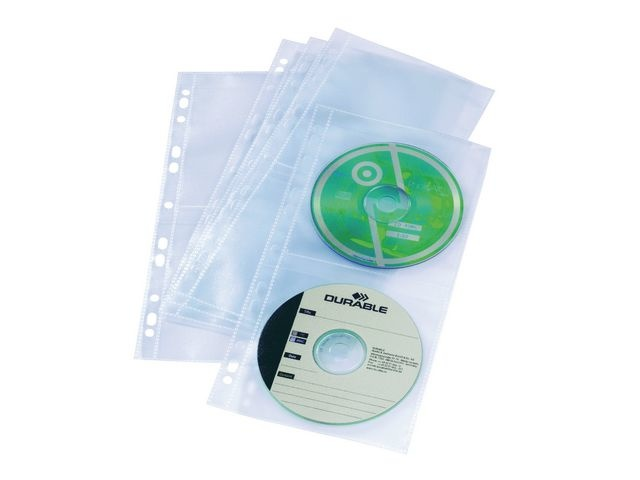 Durable Showtas A4 smal 11rings 4CD/pak 5