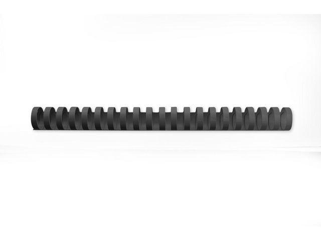 GBC Bindrug GBC 25mm 21r zwart/ds50
