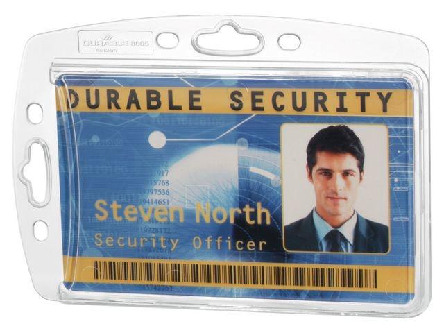 Durable Naambadge Durable 8905 85x54 z.bev/pk10