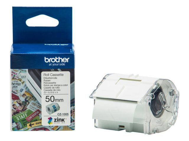 Brother Tape Brother CZ1005 50mm wit