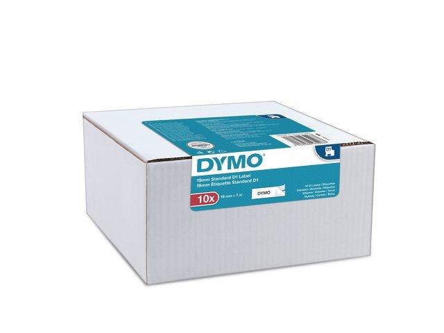 Dymo Tape Dymo D1 9MMX7M zw/wit/pk10