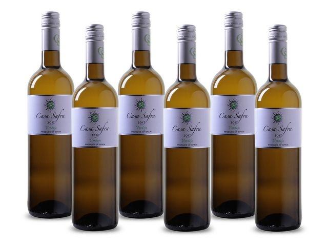 Casa Safra Wijn, Wit (doos 6 x 750 milliliter)