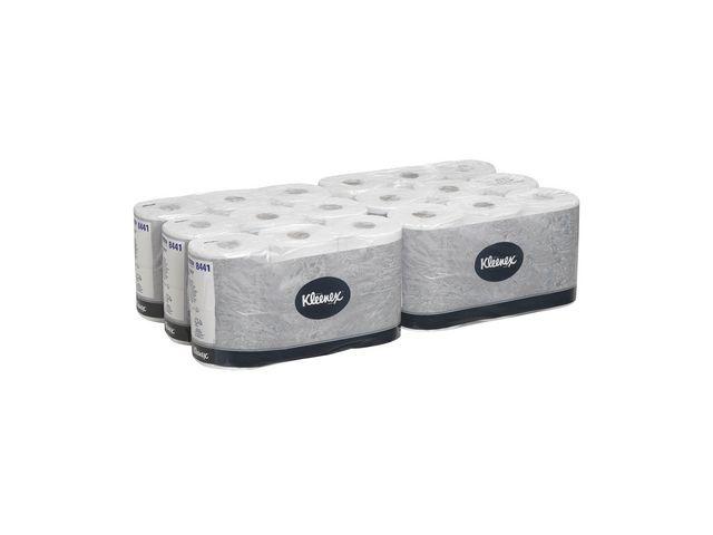 Kleenex® Toiletpapier Kleenex 600v 2L wit/pk 6x6r