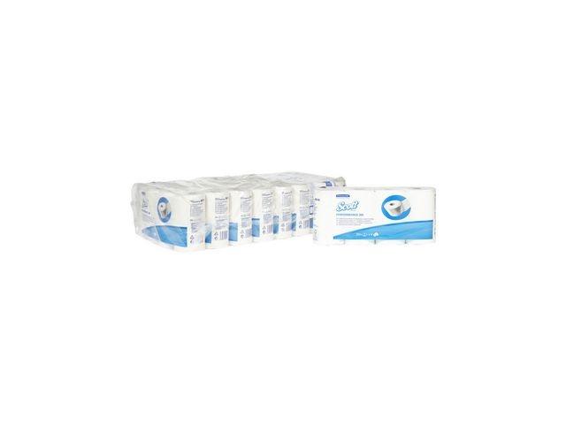 Scott® Toiletpapier Scott 350v 2L wit/pk8x8rl