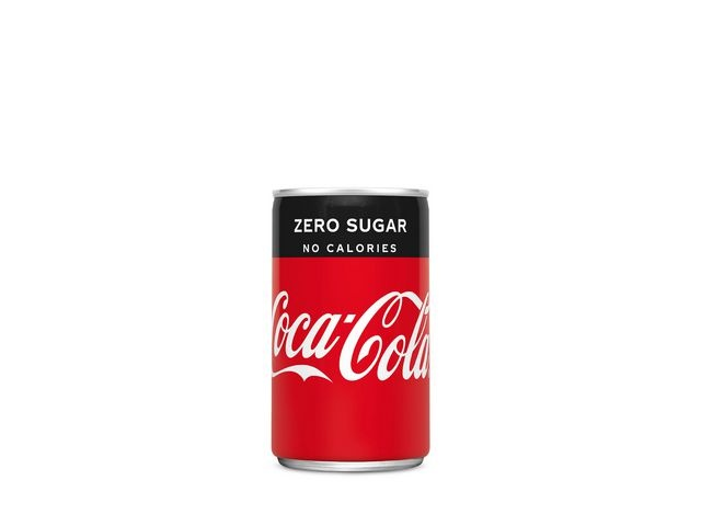 Coca-Cola Frisdrank Coca-Cola Zero 0,15L bl/pak 24