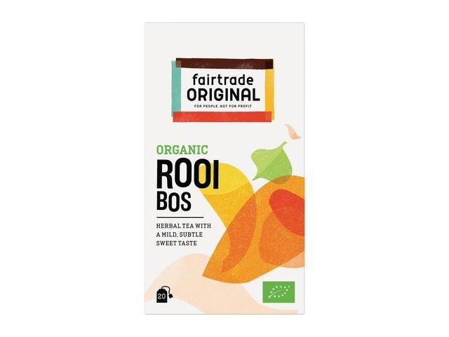 FAIR TRADE ORIGINAL Thee FT Organic rooibos /ds6x20