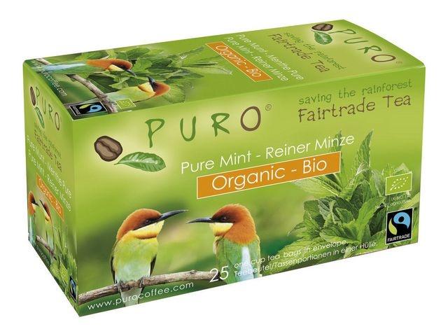 PURO Thee Puro fairtrade munt bio/ds6x25