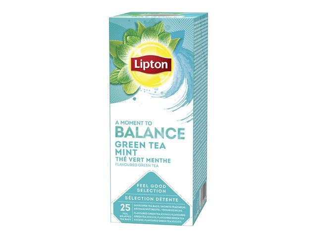 Lipton Thee Lipton FGS 1,6 gr green mint/ds6x25
