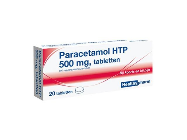Healthypharm Healthypharm Paracetamol (pak 20 stuks)