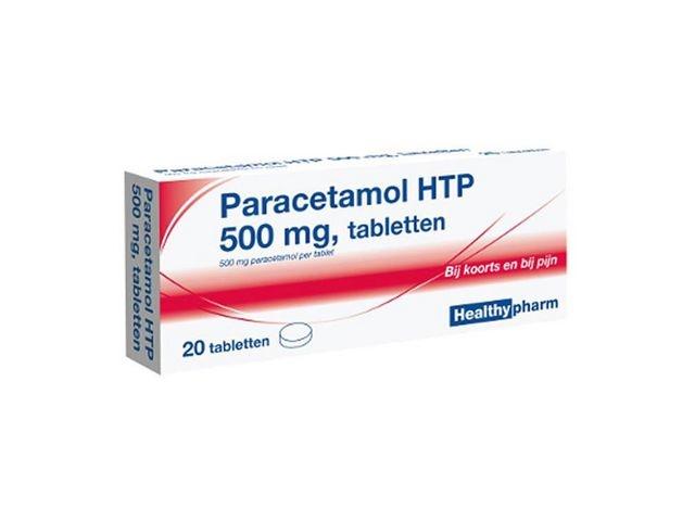 Healthypharm Pijnstiller Healtypharm tablet/pk 20