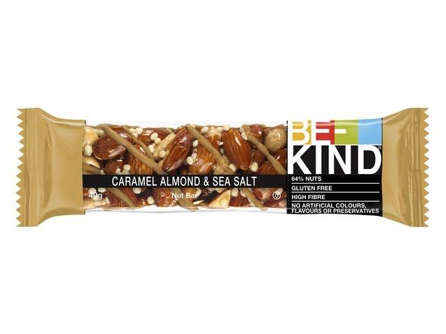 BE-KIND® Reep Be-Kind caramel almond &salt/pk12
