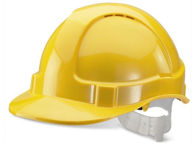 Helm economy geel