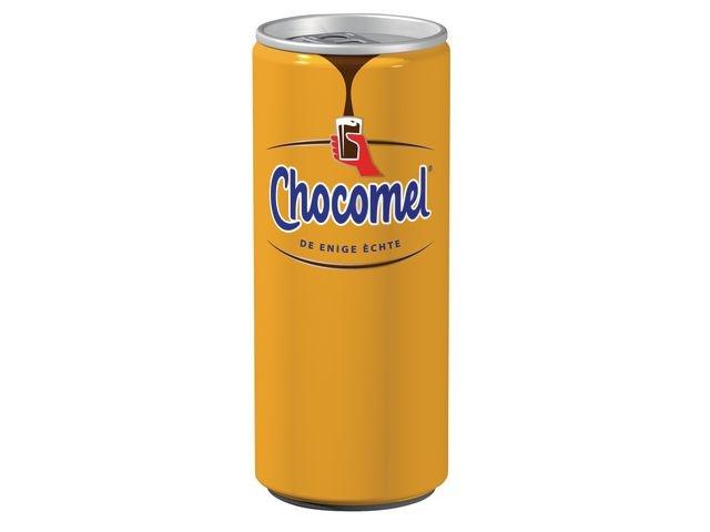 Chocomel Chocomelk chocomel 0,25L blik/pak 24