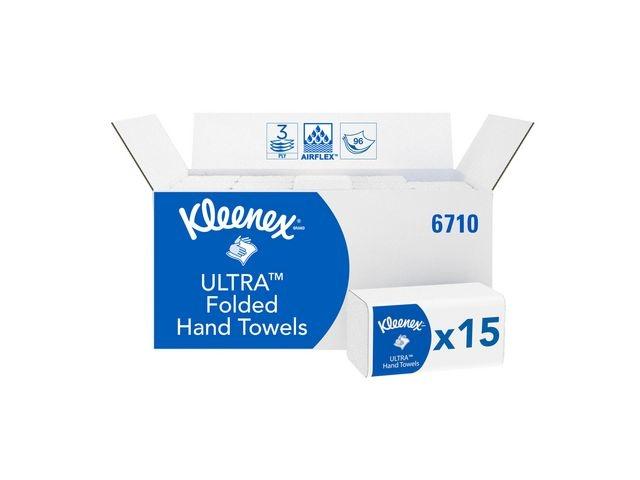 Kleenex® Handdoek Kleenex Ultra 3L wt/ds15x96