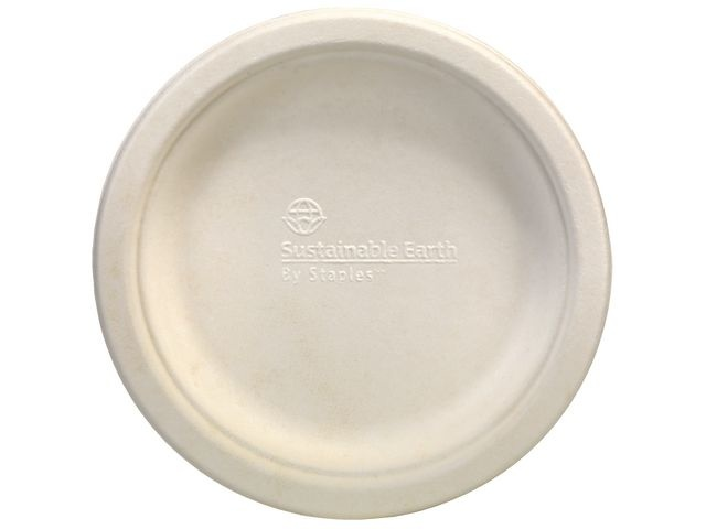 Sustainable Earth by Staples Bord Sustainable earth 15cm ivoor/pak50