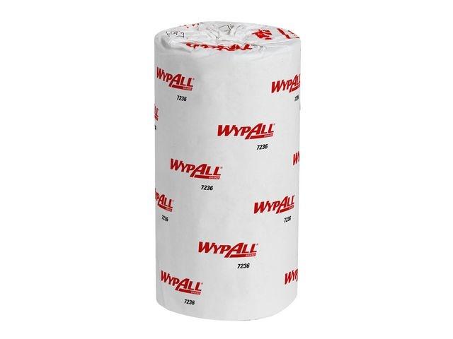 Wypall* Poetsdoek Wypall L10 1L wit/ rl1000vel