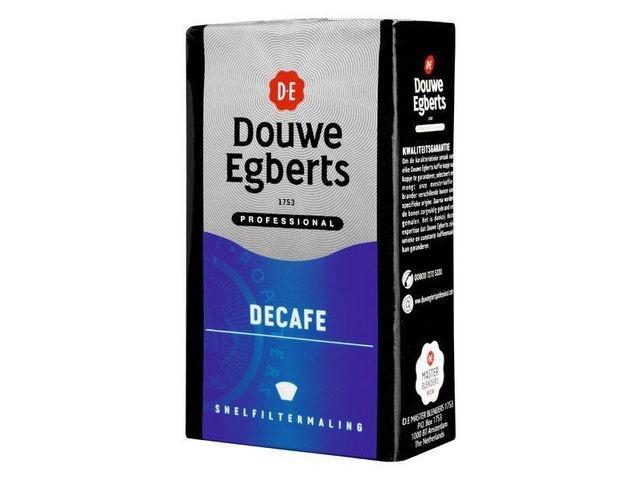 Douwe Egberts Koffie DE Decafé snelfilter/12x250g