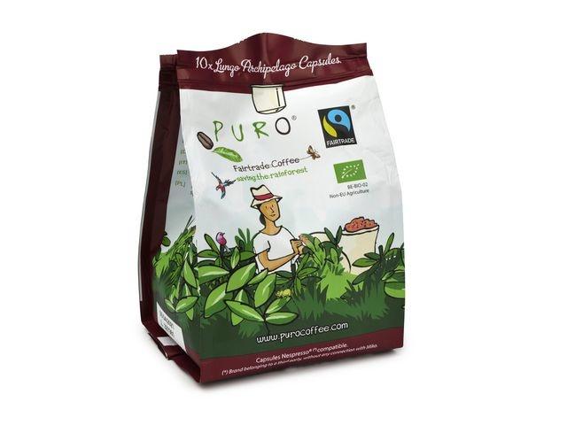PURO Koffie capsules Puro bio Archip 10/ds12