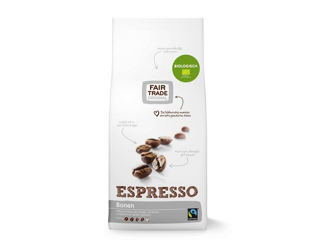 FAIR TRADE ORIGINAL Koffiebonen Espresso BIO 1000gr/ds4