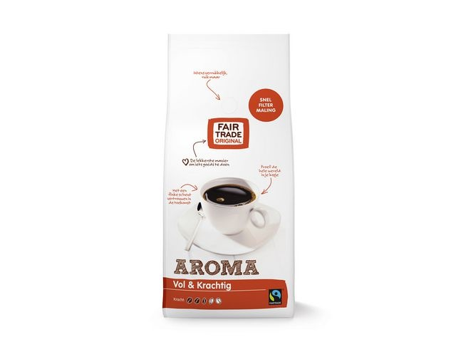 FAIR TRADE ORIGINAL Koffie aroma snelfilter 1000gr/ds4