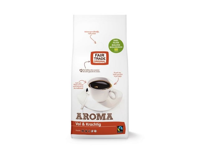FAIR TRADE ORIGINAL Koffie aroma snelfilter BIO 1000gr/ds4