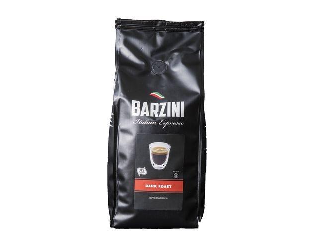 BARZINI BARZINI Dark Roast Espresso, UTZ Koffiebonen, 500 gr (doos 6 x 500 gram)