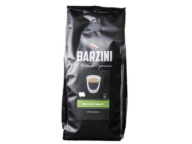 BARZINI Koffiebonen Medium Roast Espr 500g/ds6