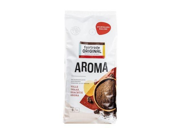 FAIR TRADE ORIGINAL FAIR TRADE ORIGINAL Aroma Standard, Koffie, Gemalen, 1 kg (doos 4 kilogram)