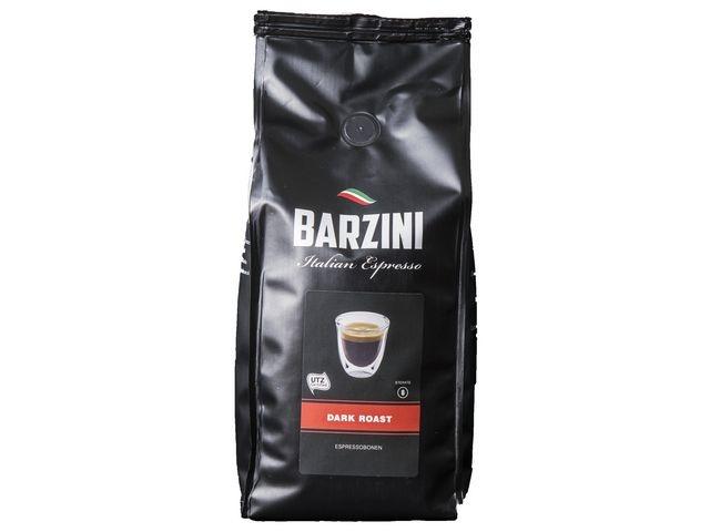 BARZINI BARZINI Dark Roast Espresso, UTZ Koffiebonen, 1 kg (doos 8 kilogram)