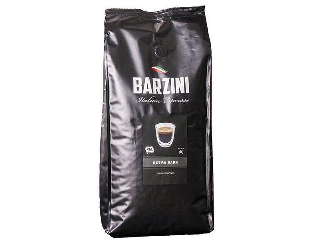 BARZINI BARZINI Extra Dark Roast Espresso, UTZ Koffiebonen, 500 gr (doos 6 x 500 gram)