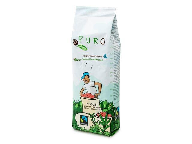 PURO Koffie Puro fairtrade gemalen/16x250gr
