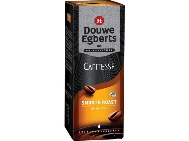 Douwe Egberts Douwe Egberts Cafitesse Smooth Roast Koffie, 1.25 liter (doos 2 x 1250 milliliter)