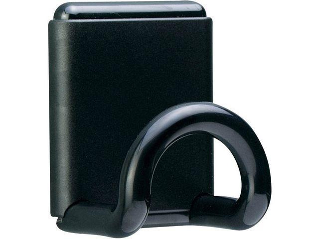 Unilux Kledinghaak Unilux magnetisch zwart