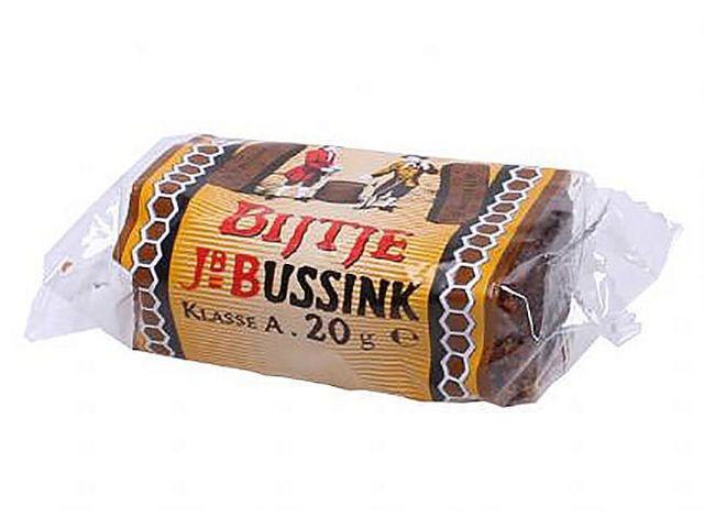 Bussink Ontbijtkoek, Doos 75 stuks (doos 75 x 20 gram)