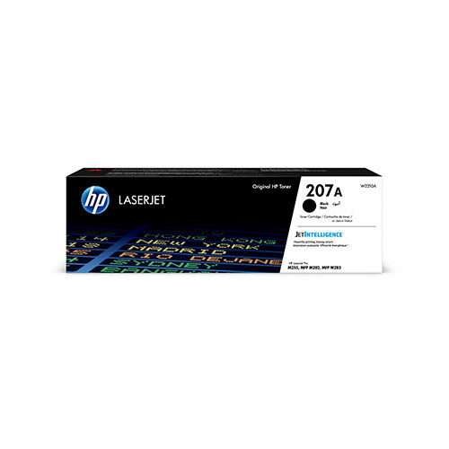HP HP 207A (W2210A) toner black 1350 pages (original)