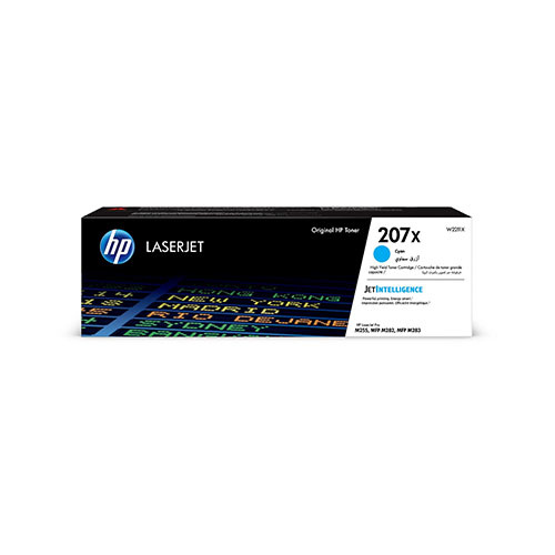 HP HP 207X (W2211X) toner cyan 2450 pages (original)