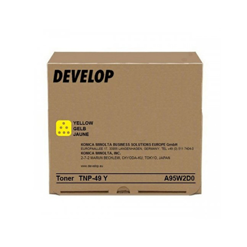 Develop Develop TNP-49Y (A95W2D0) toner yellow 12000p (original)