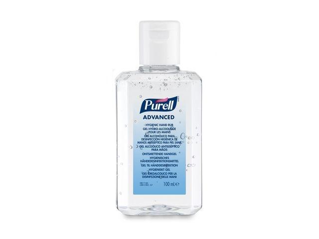 Purell® Purell® Advanced Hygiene Desinfecterende Handgel. Flacon met flipdop (fles 100 milliliter)