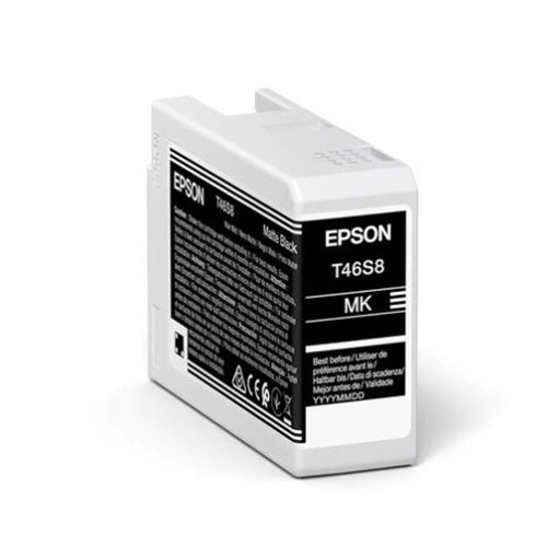 Epson Epson T46S8 (C13T46S800) ink matte black 25ml (original)