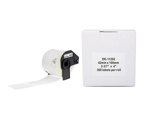 Etiket P-Touch compat.100x62mm/rol 300