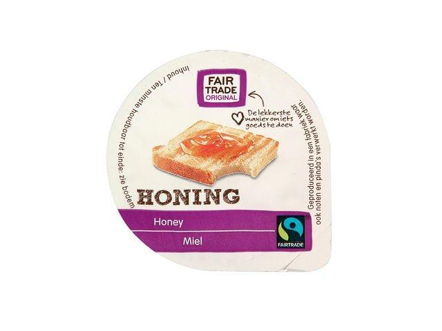 Honingcups fairtrade 15gr/ds80