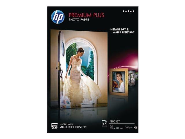 HP Papier A4 HP premium+ gloss CR672A/pk20v