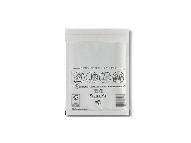 Mail Lite® Luchtkussenenvelop MailLite + C/0 wt/10